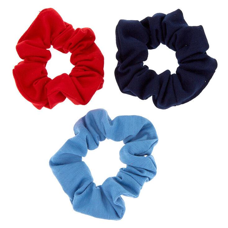 Small Patriotic Hair Scrunchies - 3 Pack,