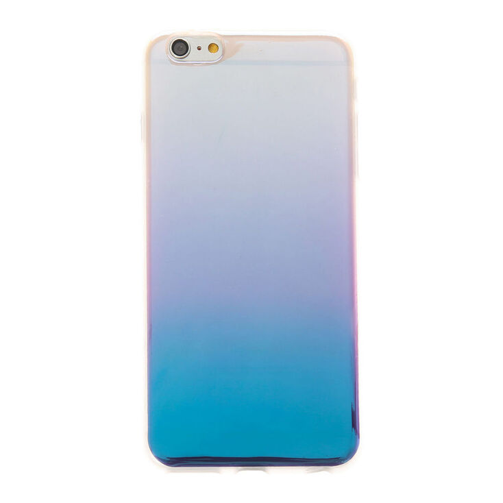 Metallic Ombre Blue Phone Case - Fits iPhone 6/6S Plus,