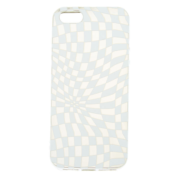 Checkered Illusion Phone Case - Fits iPhone 6/7/8 Plus,
