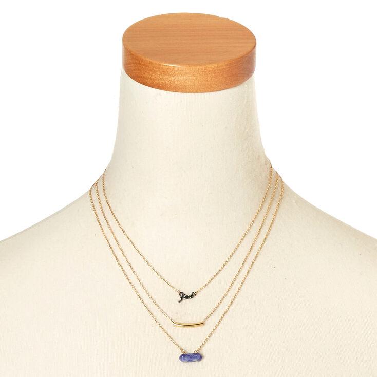 Gold-Tone Boho Necklaces,
