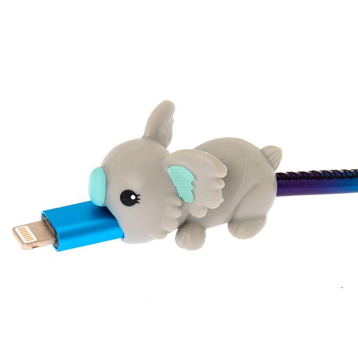 Koala Cable Critter - Gray,