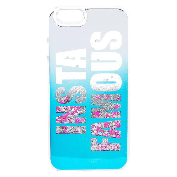 Insta Famous Liquid Glitter Phone Case,