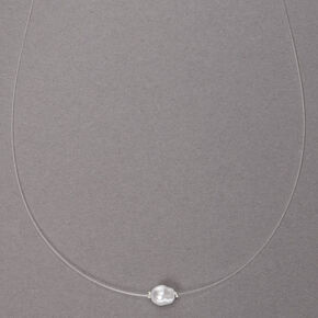 Freshwater Pearl Illusion Pendant Necklace,