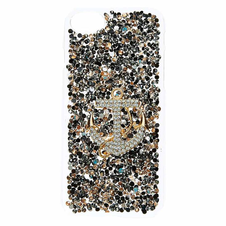 Embellished Anchor Phone Case - Fits iPhone 6/7/8,