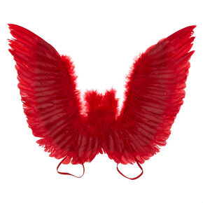 Feather Wings - Red,