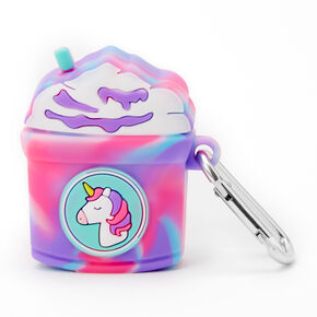 Rainbow Unicorn Frappe Silicone Earbud Case Cover - Compatible with Apple AirPods,