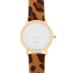 Tortoiseshell Classic Watch - Brown,