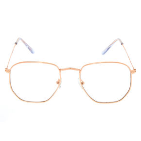 Rose Gold Rounded Frames,