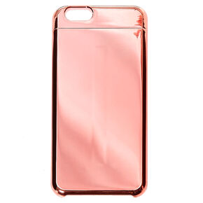 Rose Gold Mirrored Phone Case,