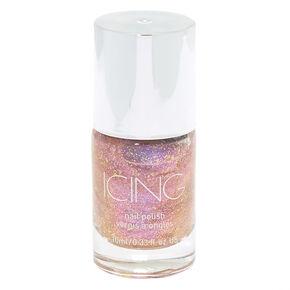 Glitter Nail Polish - Mystical Pink,