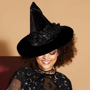 Celestial Witch Hat - Black,