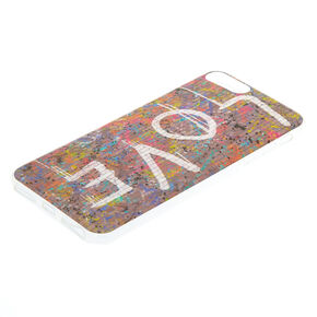 Love Graffiti Phone Case - Fits iPhone 6/7/8 Plus,