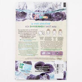 7th Heaven Superfood Acai Sheet Mask,
