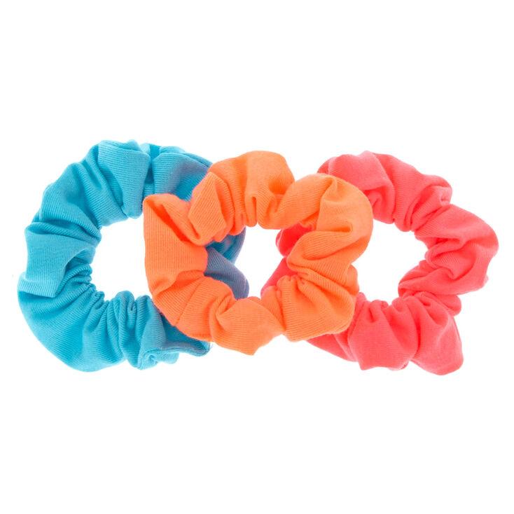 Neon Hair Scrunchies,