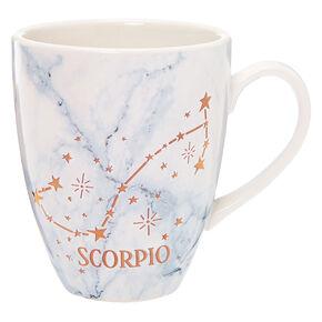 Ceramic Marble Zodiac Mug - Scorpio,