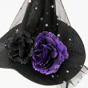 Celestial Witch Hat Headband - Black,