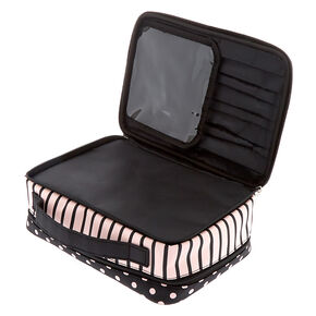 Parisian Traveler Makeup Bag - Pink,