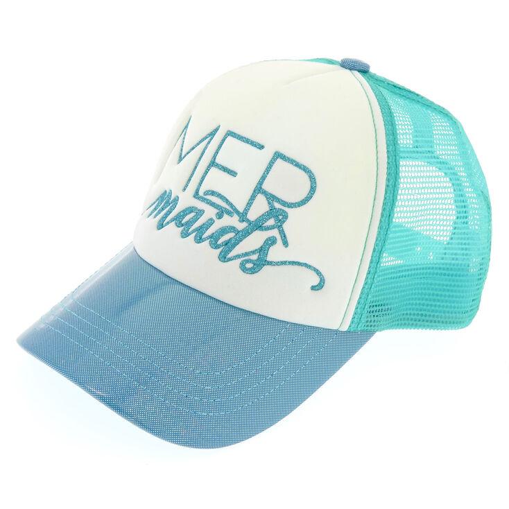 Turquoise MERmaids Bridesmaid Trucker Hat,