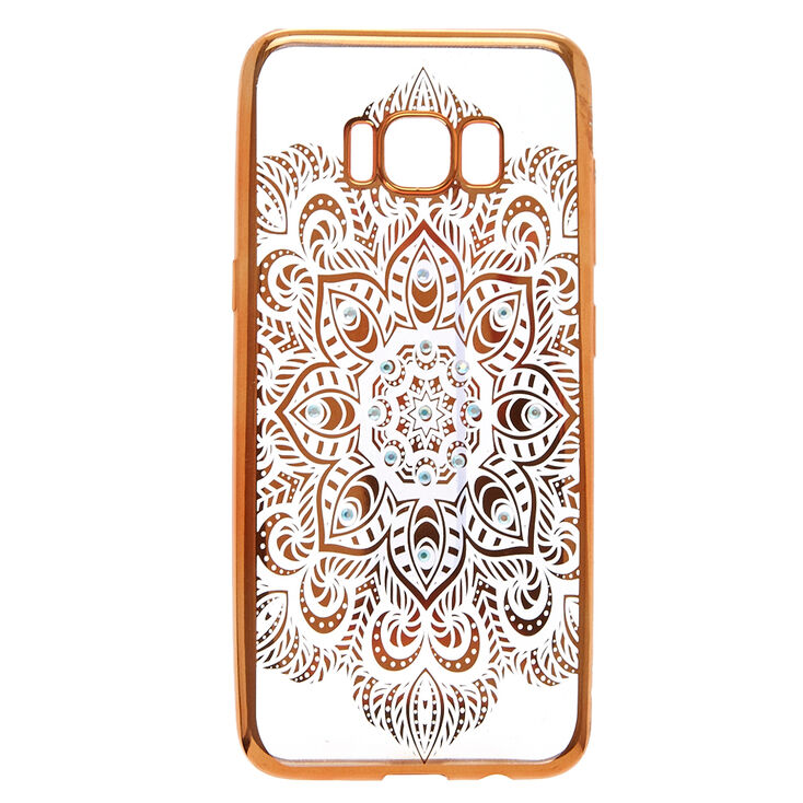 Gold Mandala Phone Case - Fits Samsung Galaxy S8,