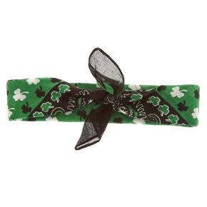 St. Patrick's Day Bandana Headwrap,