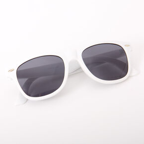 Retro Sunglasses - White,