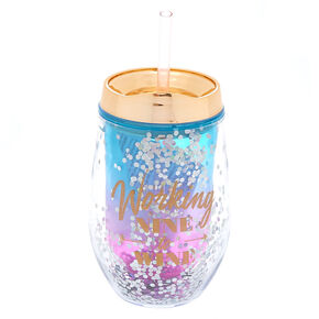 Working Nine To Wine Tumbler,
