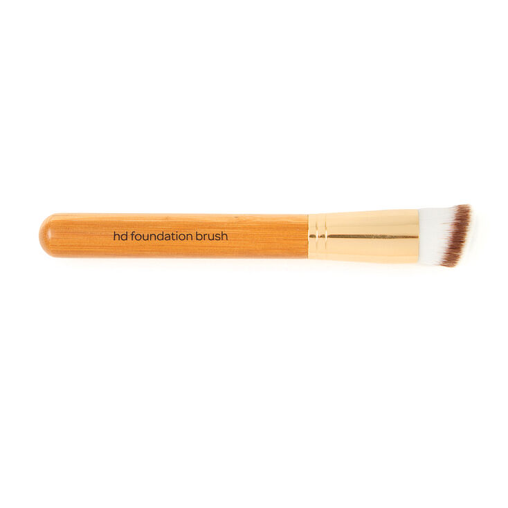 Bamboo Flat Angled Foundation Brush,