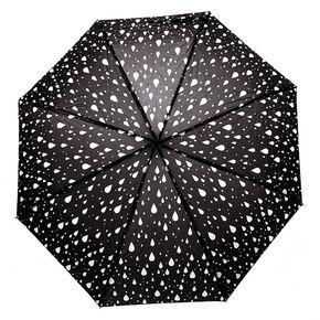 Rain Drops Umbrella - Black,