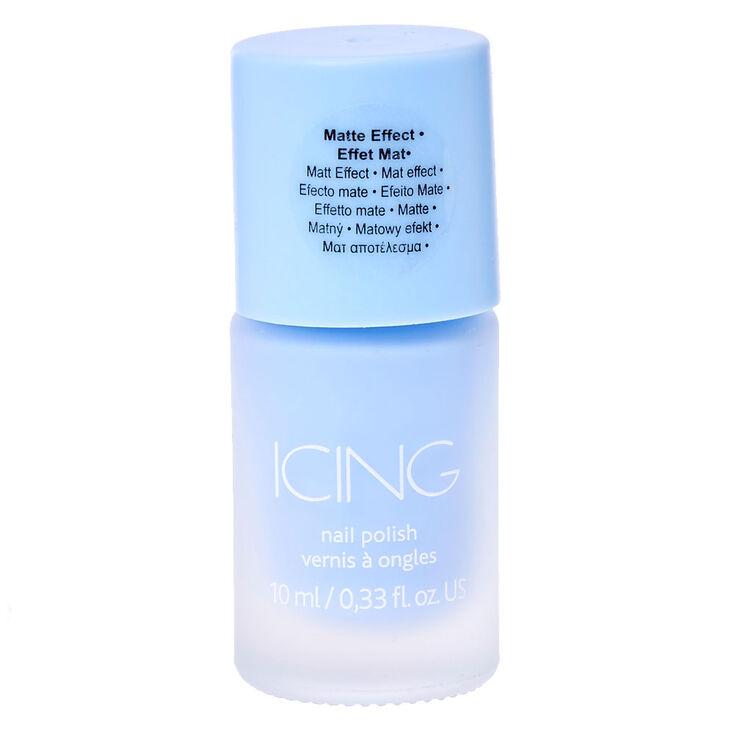 Matte Nail Polish - Sorbet Blue,