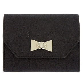 Envelope Clutch Purse - Black,
