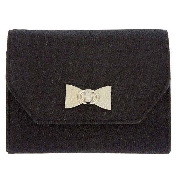 Envelope Clutch Purse - Black,