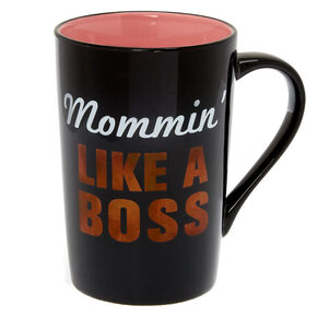 Mommin' Like A Boss Ceramic Mug,