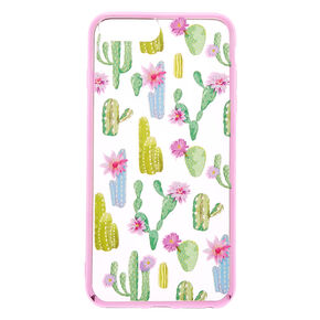 Floral Cactus Phone Case - Fits iPhone 6/7/8 Plus,