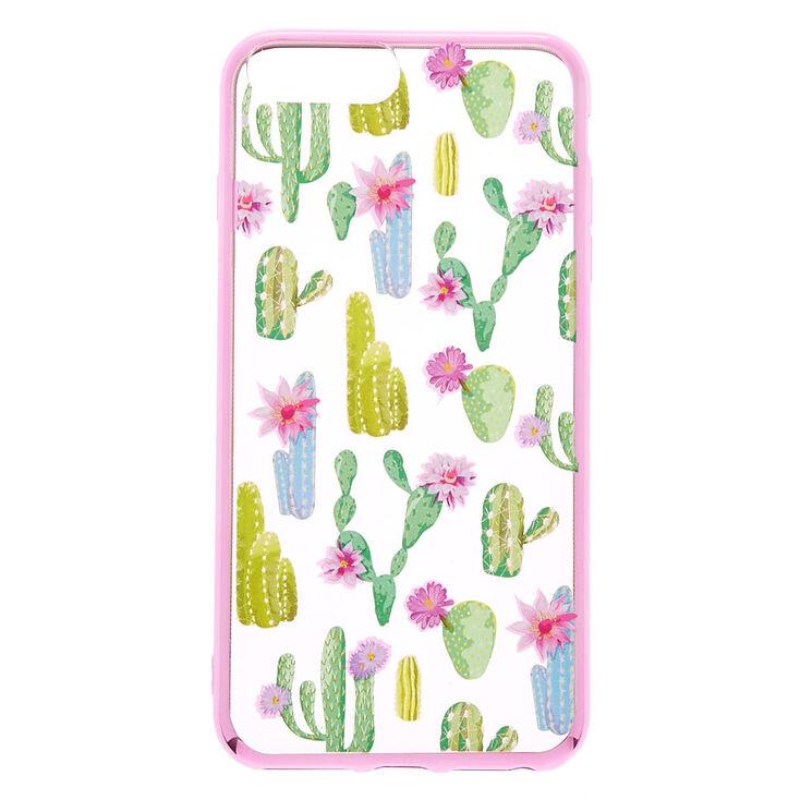 Floral Cactus Phone Case - Fits iPhone 6/7/8 Plus,