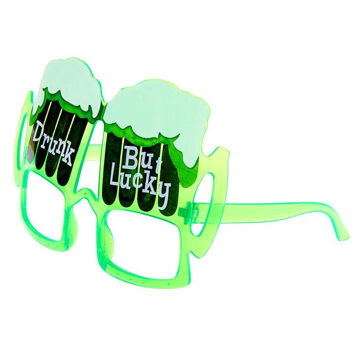 Drunk But Lucky Frames - Green,