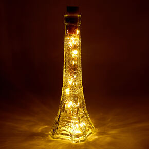 Eiffel Tower Tabletop Light Jar,