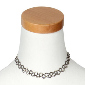 Black Tattoo Choker,