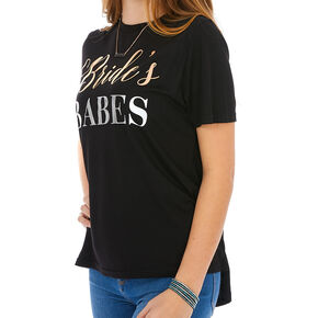Bride's Babes T-Shirt - Black,