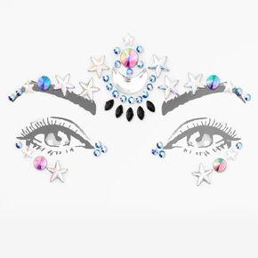 Iridescent Rhinestone Bling Foldable Headphones,