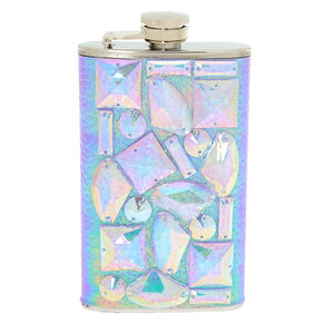 Holographic Gem Flask - Purple,