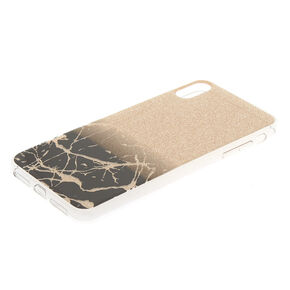 Gold Cracked Marble Phone Case - Fits iPhone XS Max,