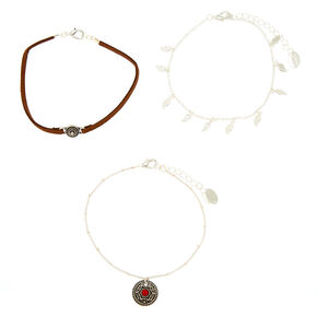 Bohemian Country Anklet - 3 Pack,