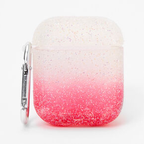 Pink Ombre Caviar Earbud Case Cover - Compatible with Apple AirPods®,