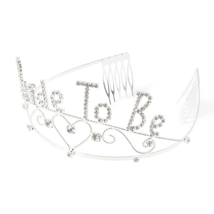 Bride to Be Bling Tiara - Silver,