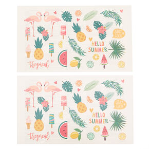 Summer Fun Temporary Tattoos,