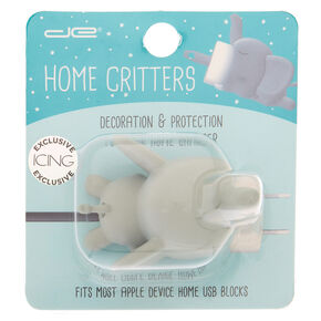 Elephant Home Critter - Gray,