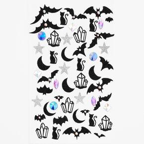 Halloween Celestial Gem Temporary Tattoos,