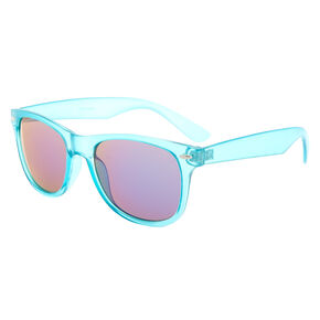 Retro Frost Sunglasses - Blue,