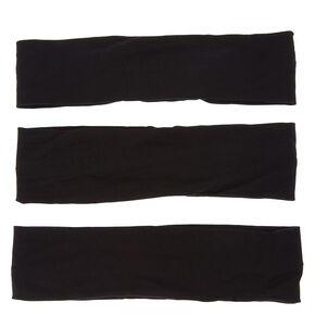 Black Trio Headwraps,