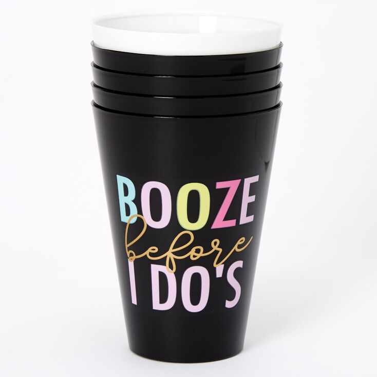 Booze Before I Do's Bachelorette Party Cup Set - 5 Pack,